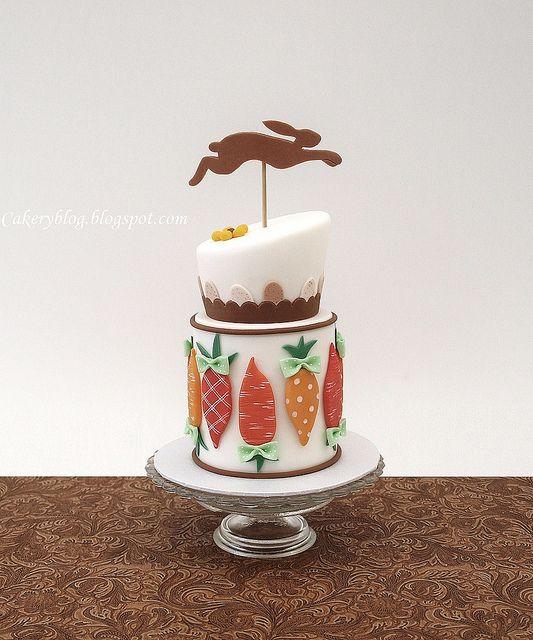 Elegant Easter Cake