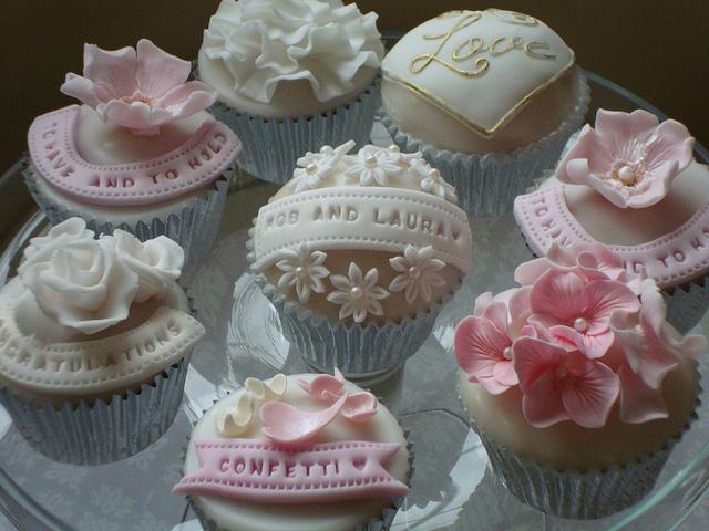 Engagement Party Idea Cupcakes