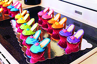 Fancy Birthday Cupcakes for Girls