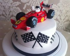 Formula 1 Race Car Cake Toppers