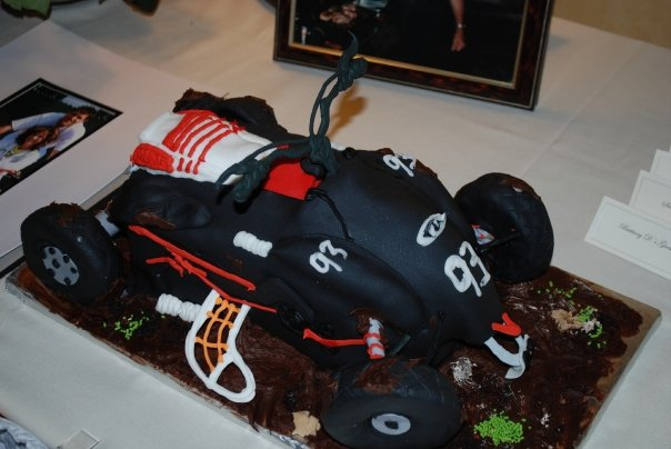 Four Wheeler Cake