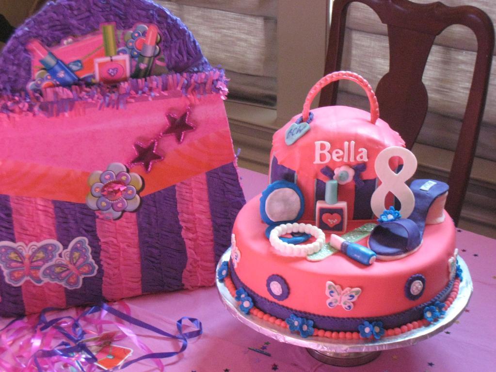 Glamour Birthday Cake Idea