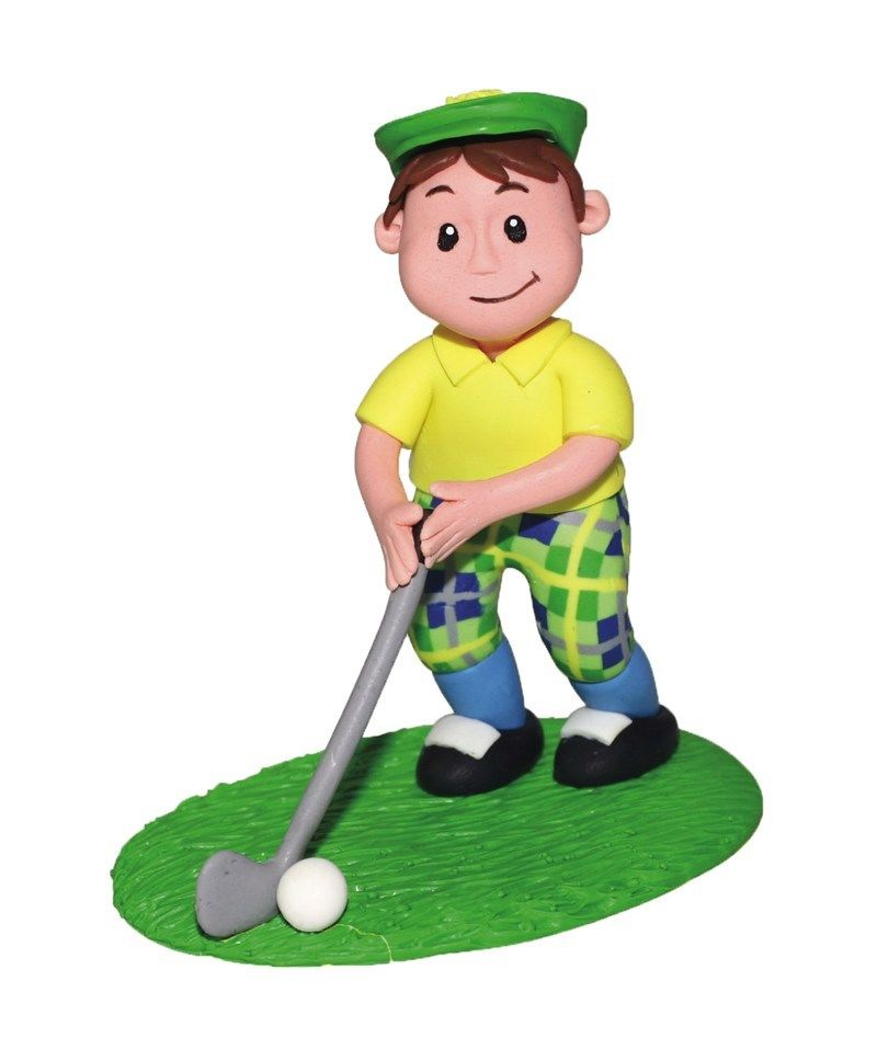 Golf Cake Toppers Decorations