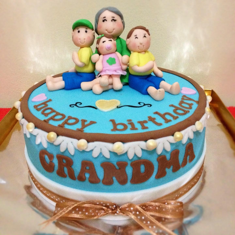 Grandma Birthday Cake