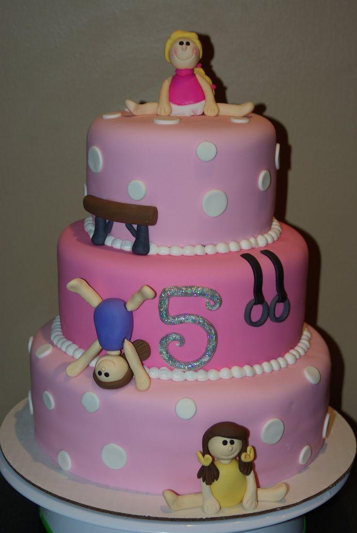 Gymnastics Birthday Cake Ideas