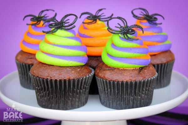 Halloween Buttercream Cupcakes