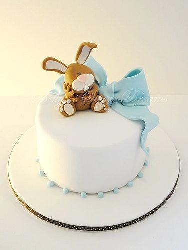 Happy Birthday Bunny Rabbit Cake