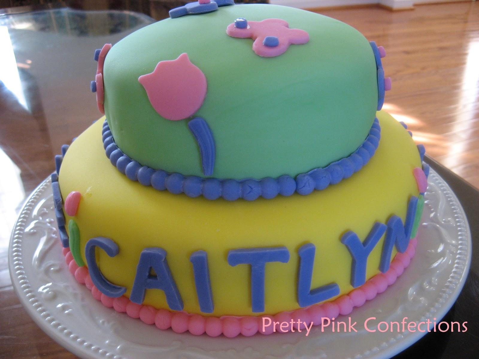 Happy Easter Birthday Cake