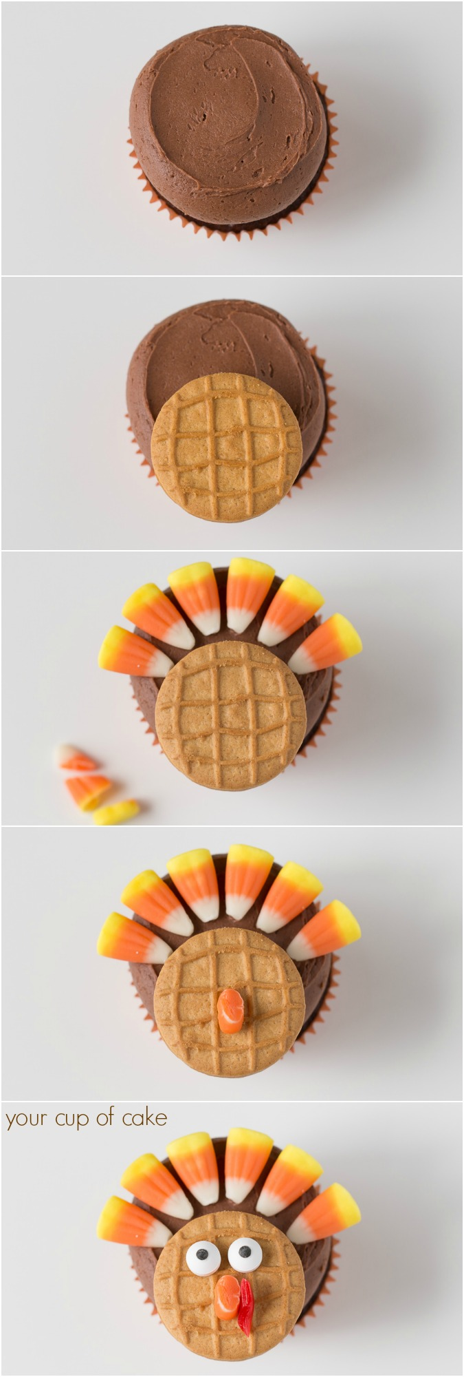 How to Make Turkey Cupcakes for Thanksgiving