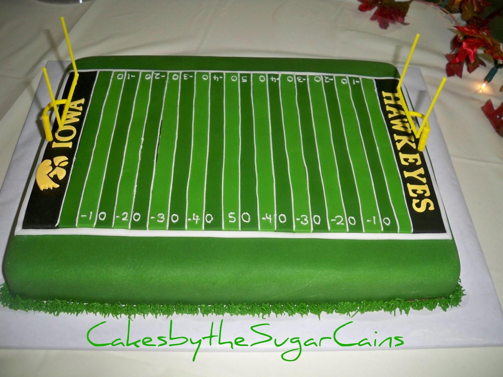 Iowa Hawkeye Football Cake