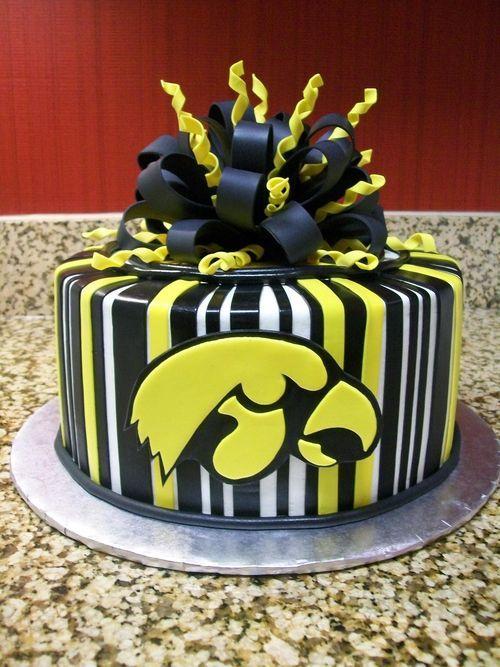 Iowa Hawkeyes Cake