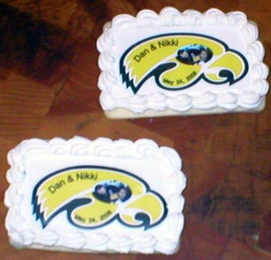 Iowa Hawkeyes Garter Wedding