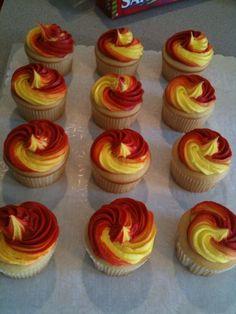 Iron Man Themed Cupcakes