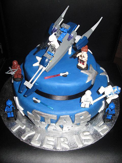 LEGO Star Wars Boys Birthday Cakes