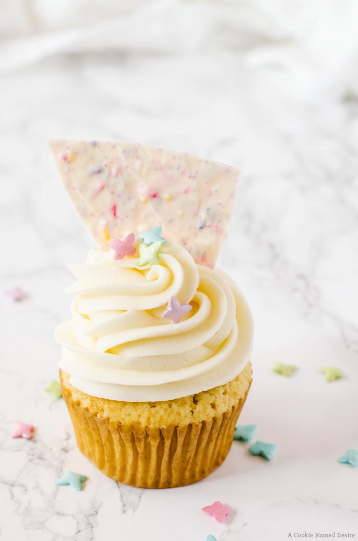 Lemon Vanilla Cupcakes