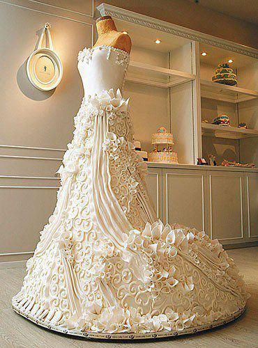 Life-Size Wedding Cake