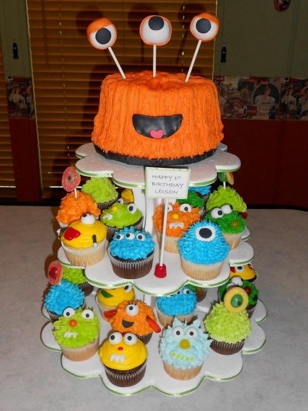 Little Monsters Birthday Cake Smash