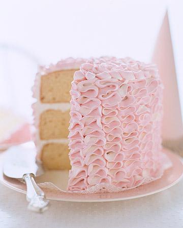 Martha Stewart Ruffle Cake