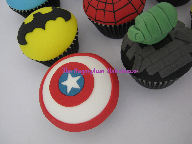 Marvel Comics Cake Decorations