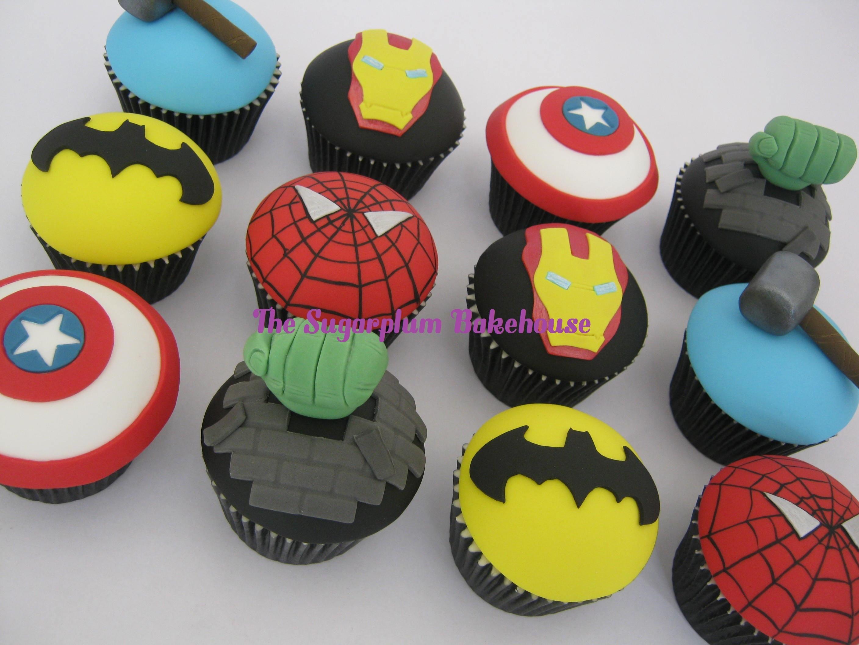 Marvel Comics Cupcakes
