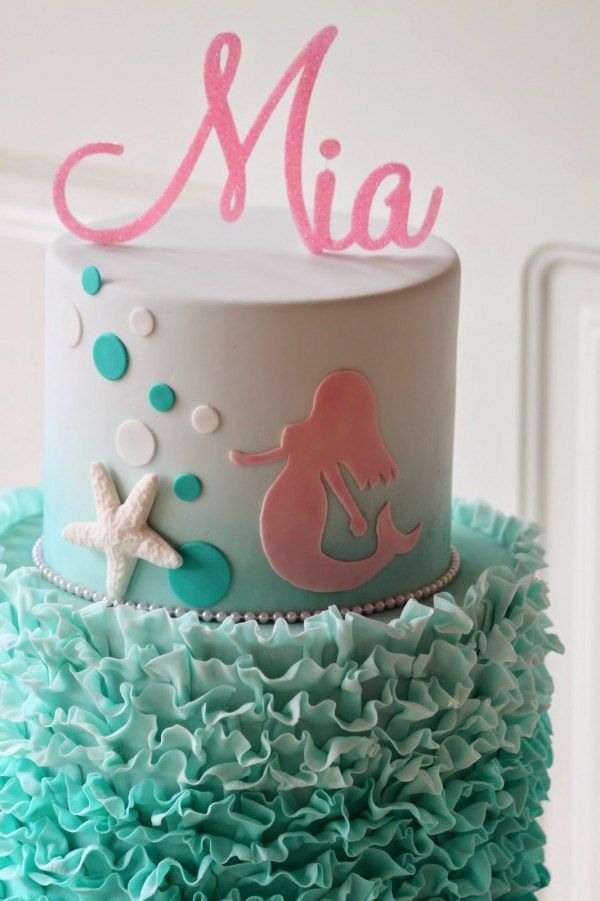 Mermaid Birthday Cake Idea