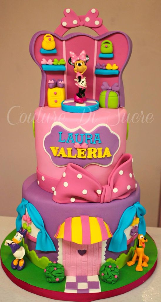 Minnie Mouse Boutique Birthday Cakes