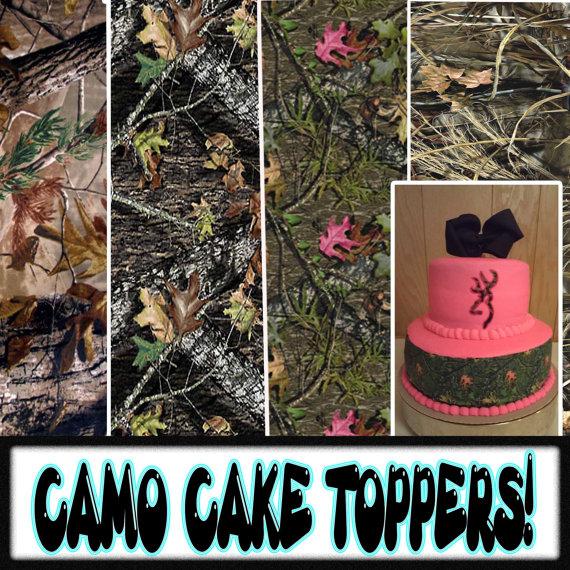 7 Photos of Edible Camo Sugar Sheets For Cakes