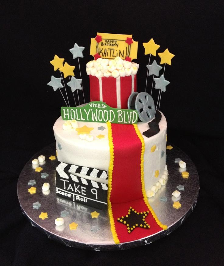 Movie Themed Birthday Cake