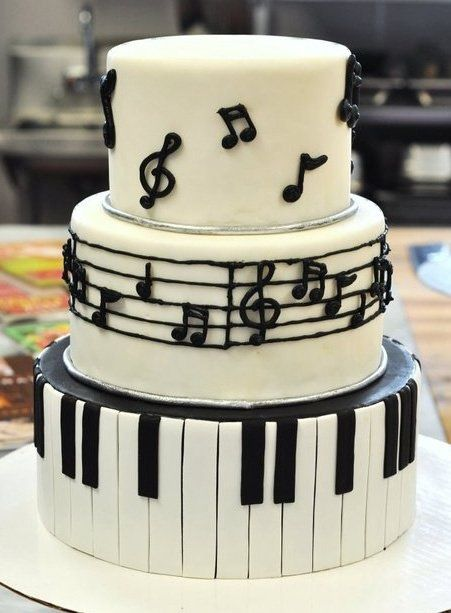Music Themed Cake Designs