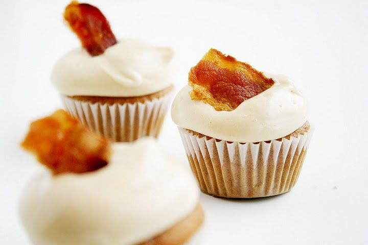 Pancake Bacon Egg Cupcakes