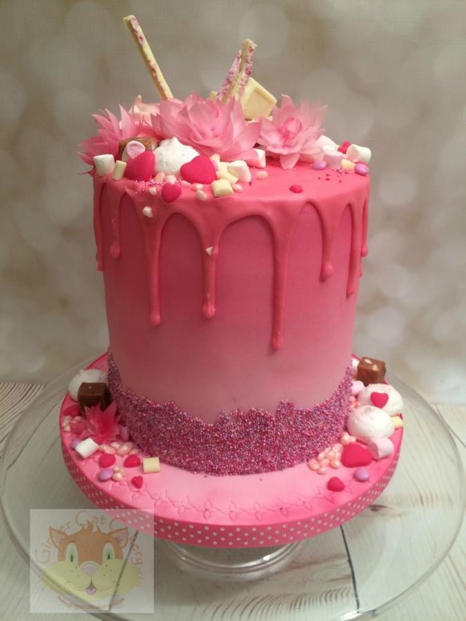 Pink Velvet Wedding Cakes