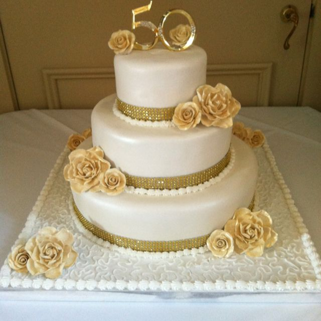 Pinterest 50th Wedding Anniversary Cakes