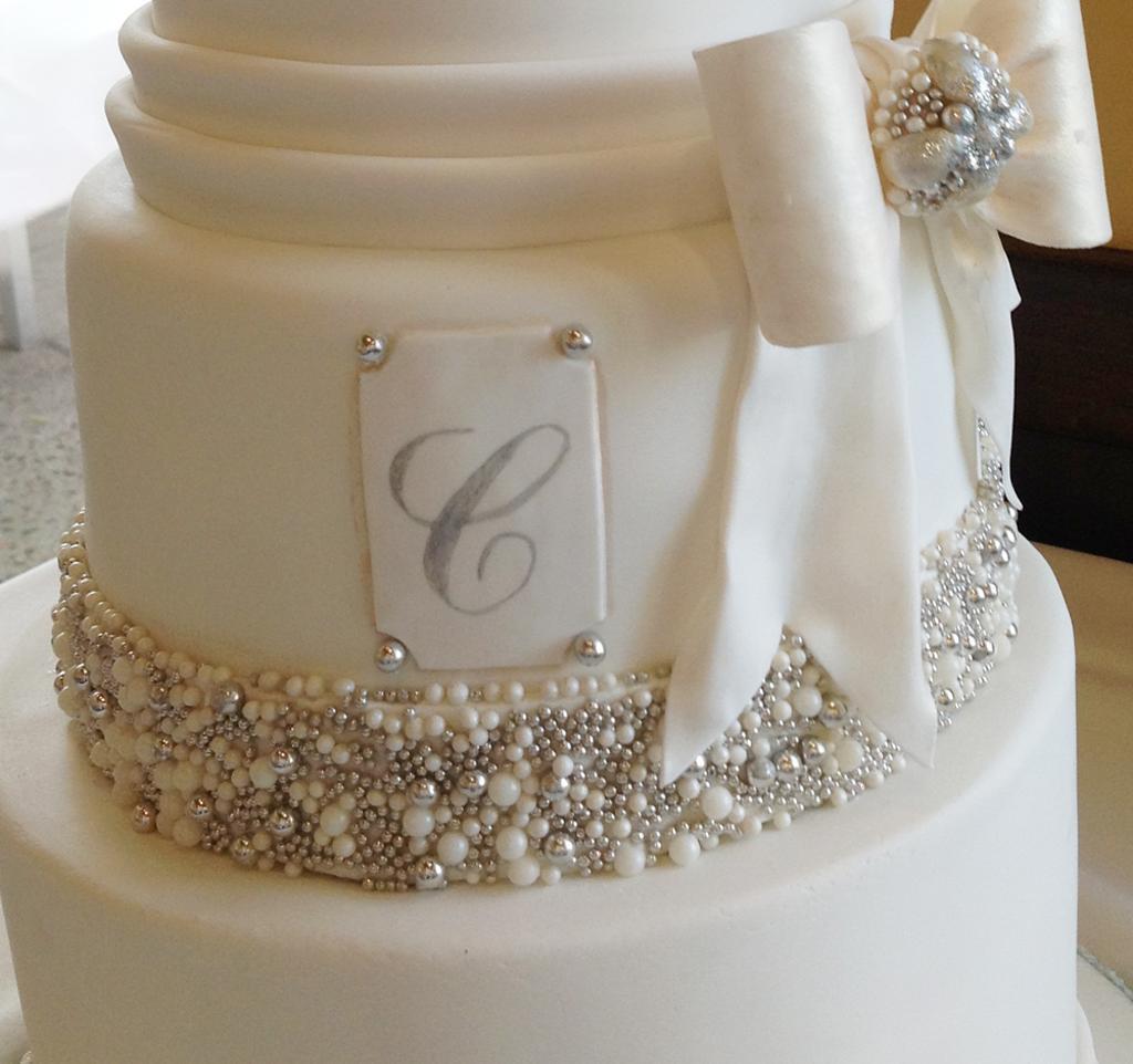 Pinterest Bling Wedding Cakes