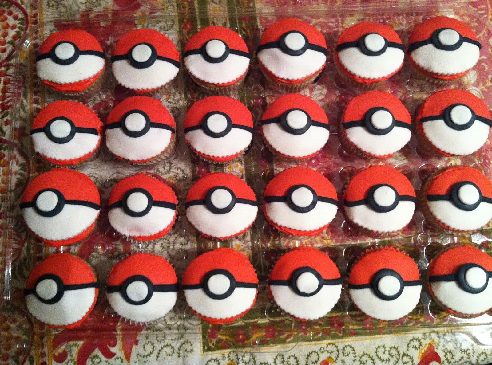 Pokemon Birthday Cake Cupcakes