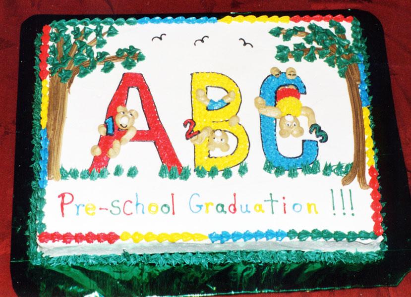 Preschool Graduation Sheet Cakes