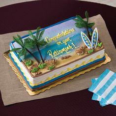 Publix Beach Cake