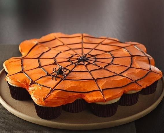 6 Photos of Spider Web Cupcakes That Look Like