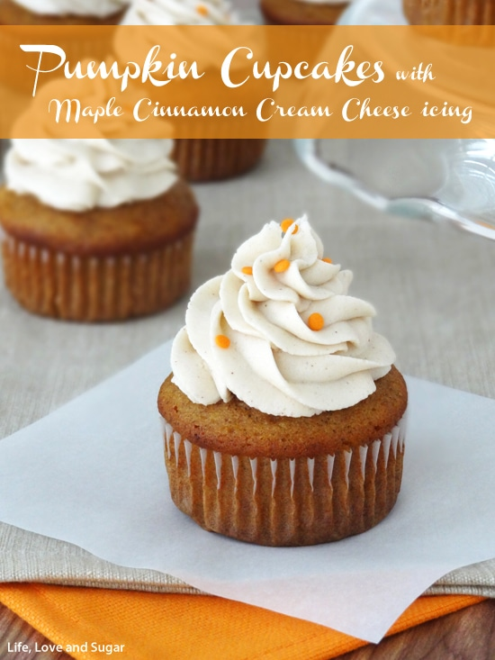 10 Photos of Pumpkin Cinnamon Cupcakes With Icing