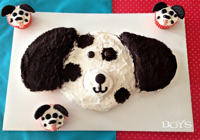 Puppy Dog Birthday Cake for Kids