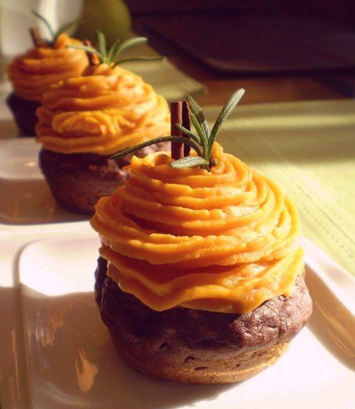 Recipe for Vegan Sweet Potato Cupcakes