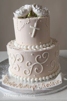 Religious First Communion Cake