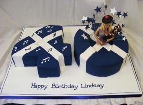 Scottish Theme Birthday Cakes