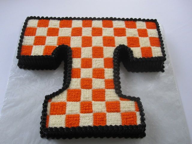 Sports Grooms Cake Tennessee