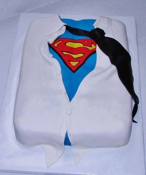 Superman Birthday Cake Ideas for Men
