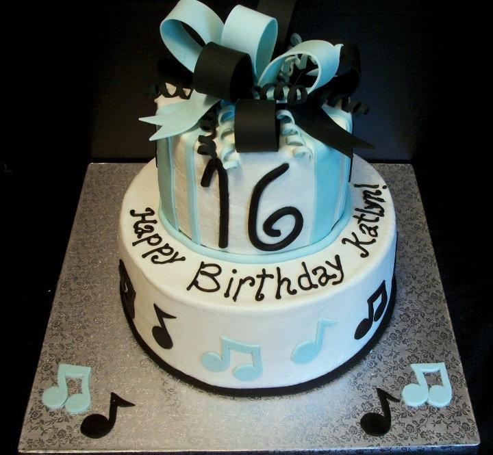 Sweet 16 Birthday Cakes Music