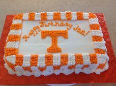 Tennessee Birthday Cake