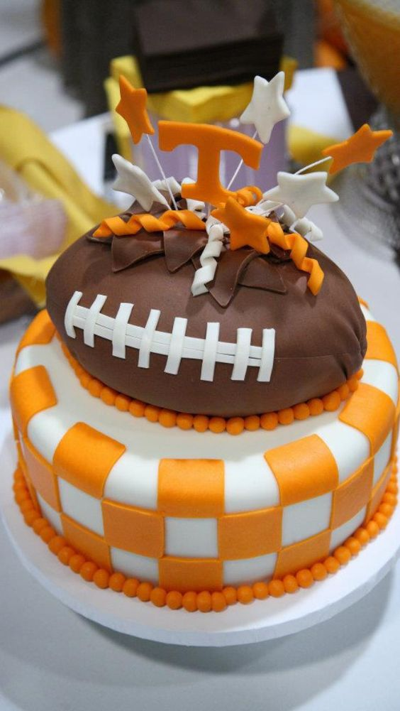 Tennessee Football Birthday Cake