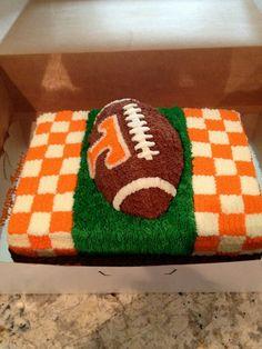 Tennessee Football Cake Ideas