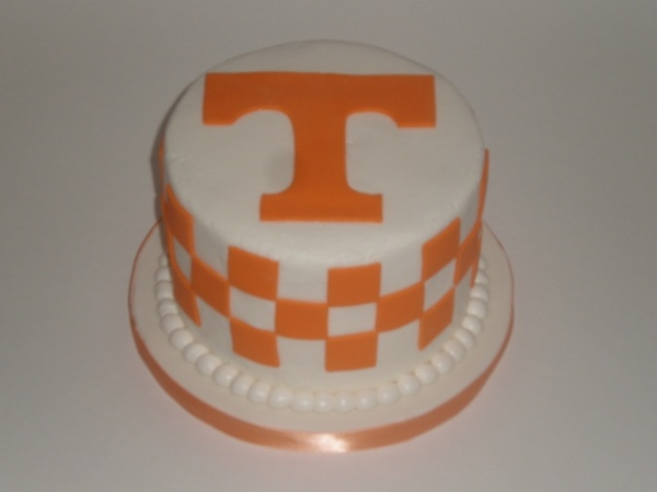 Tennessee Vols Birthday Cake