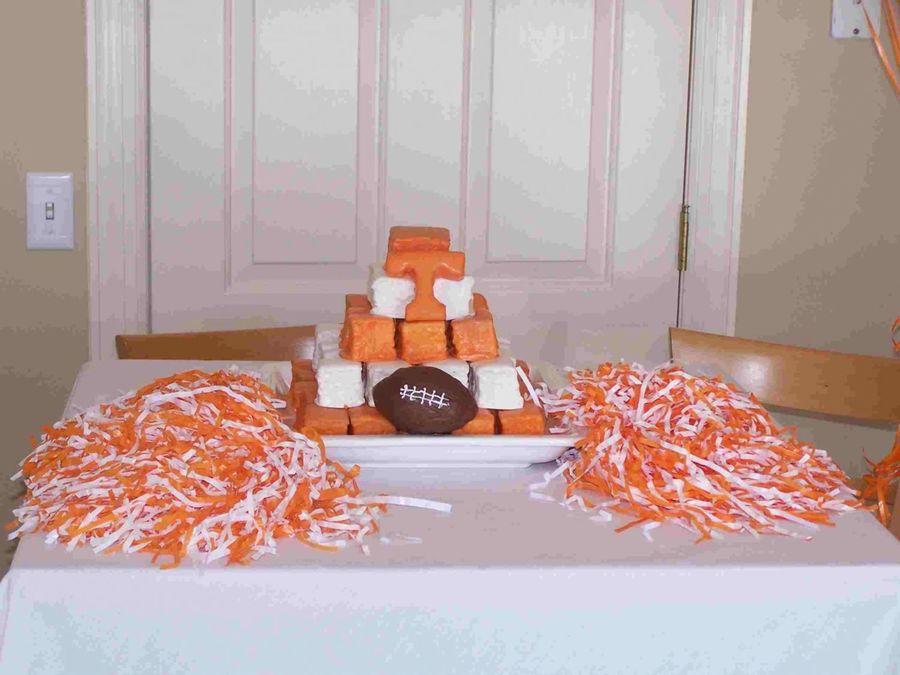 Tennessee Vols Grooms Cake